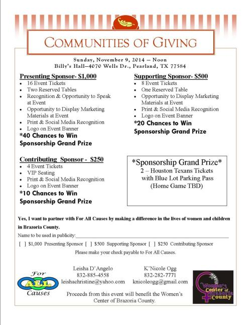 CommunitiesofGiving