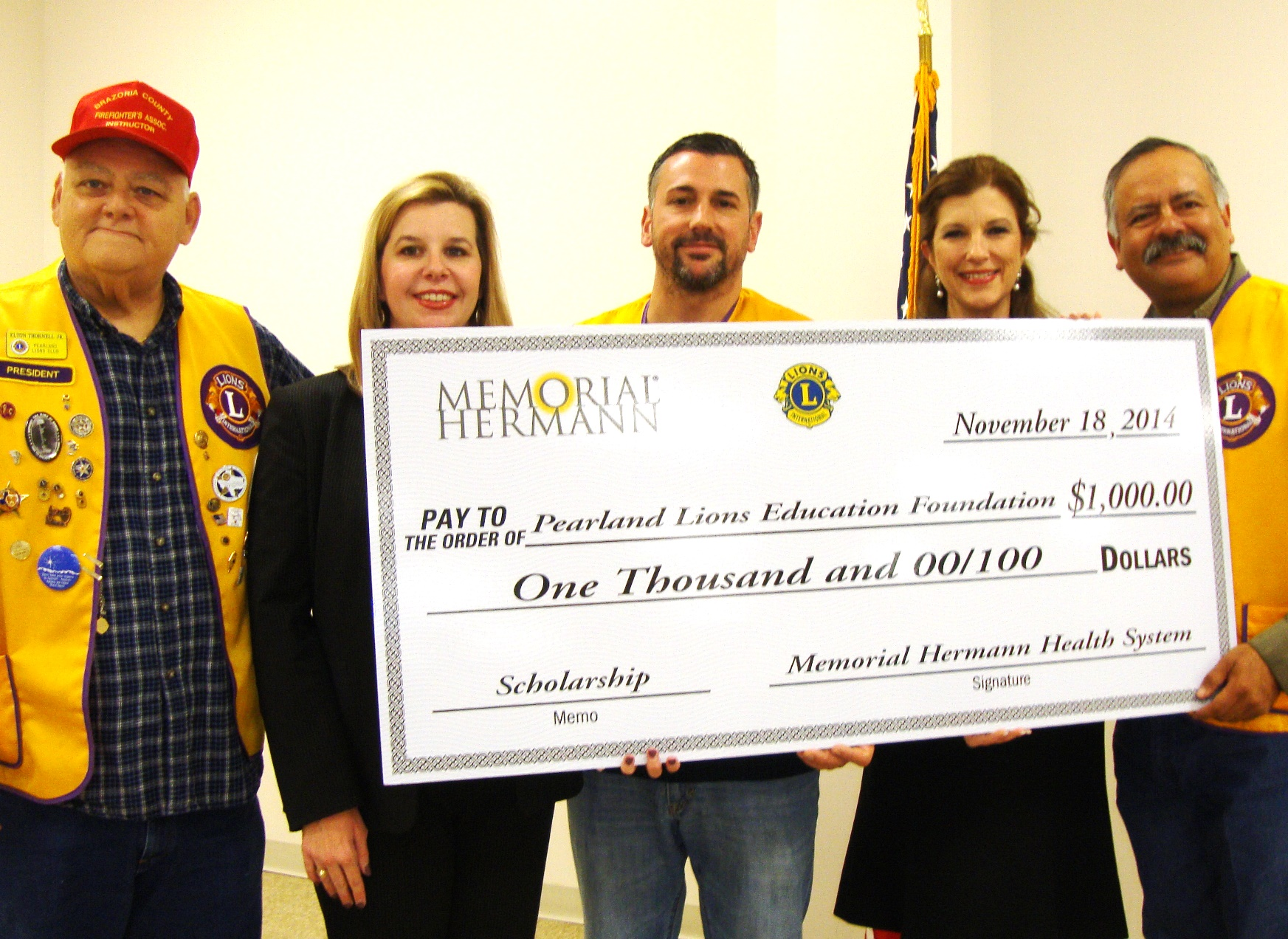 Memorial Hermann Supports Higher Education in Pearland | The