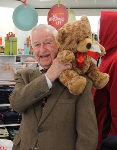 "Mayor Reid likes the ""Bears That Care"" bears."