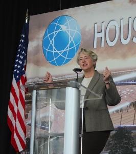 Houston Mayor Annise Parker.