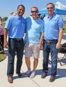 (Kristi Nix) Councilmembers Derrick Reed (left), Gary Moore (center) and Keith Ordeneaux (right).