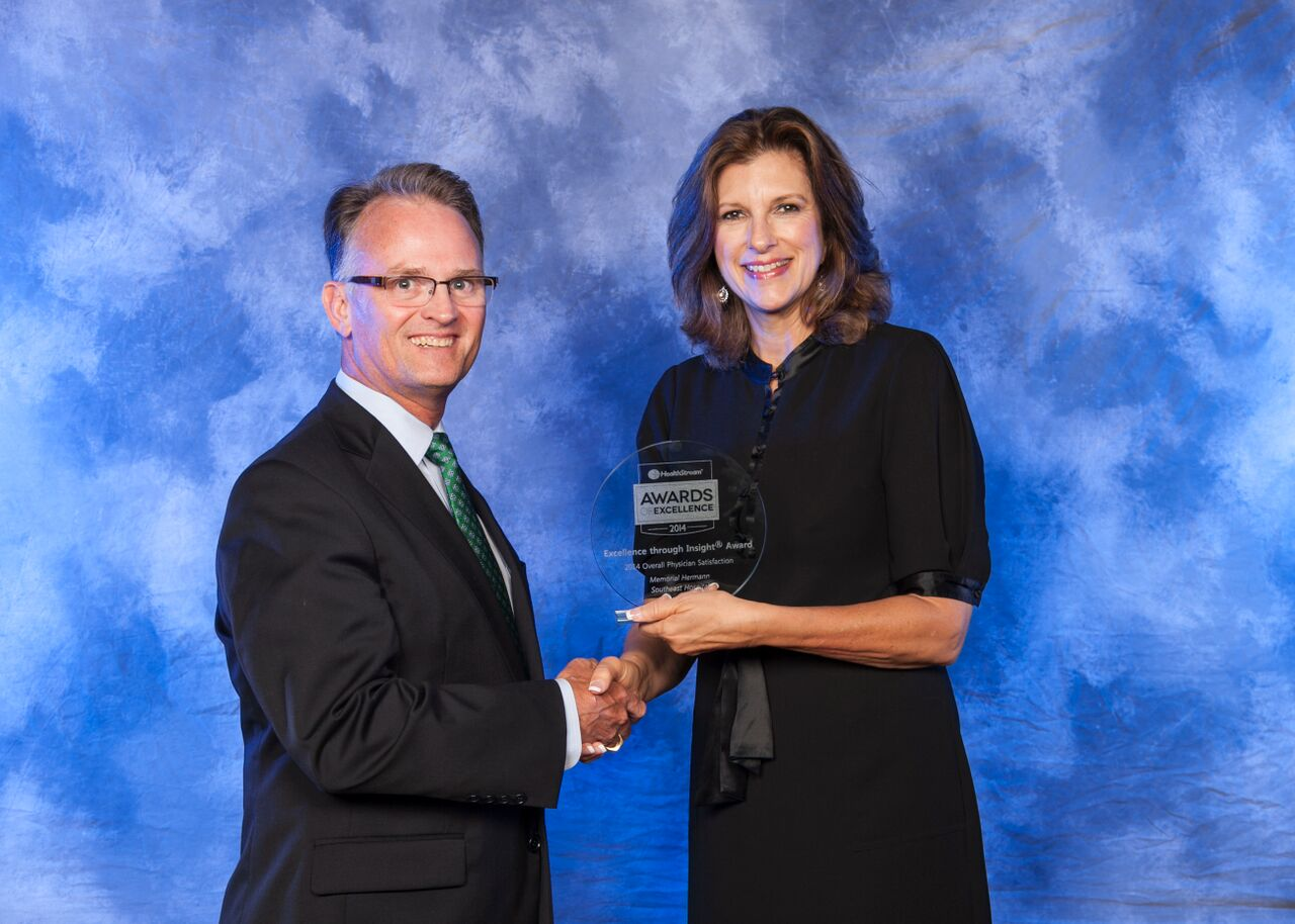 Memorial Hermann Southeast Hospital Recognized for Physician