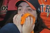 Fan Alexandra Ellis holds her breath (Photo: Chris Daigle)