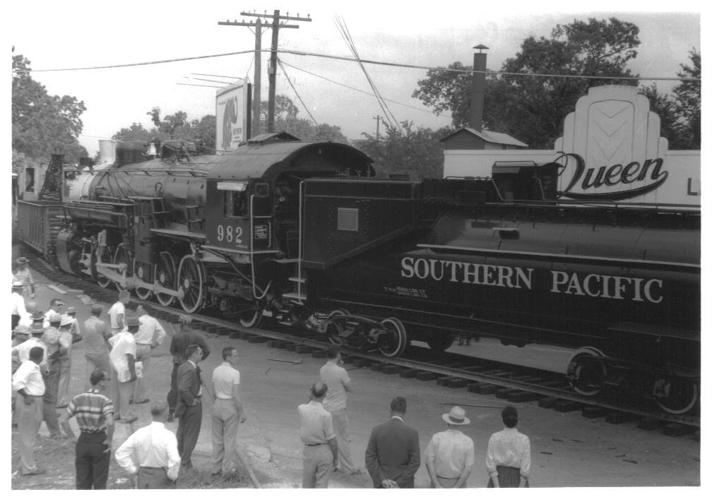 Hermann Park locomotive 1957#6