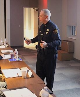 Assistant Chief Michael Hamlin