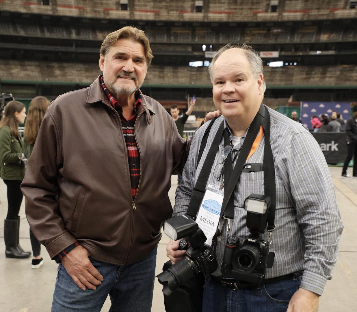 Chris with Dan Pastorini April 9, 2018