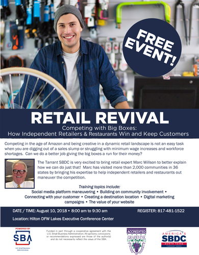 EventPhotoFull_Retail Revival Flyer Grapevine 2018 x2