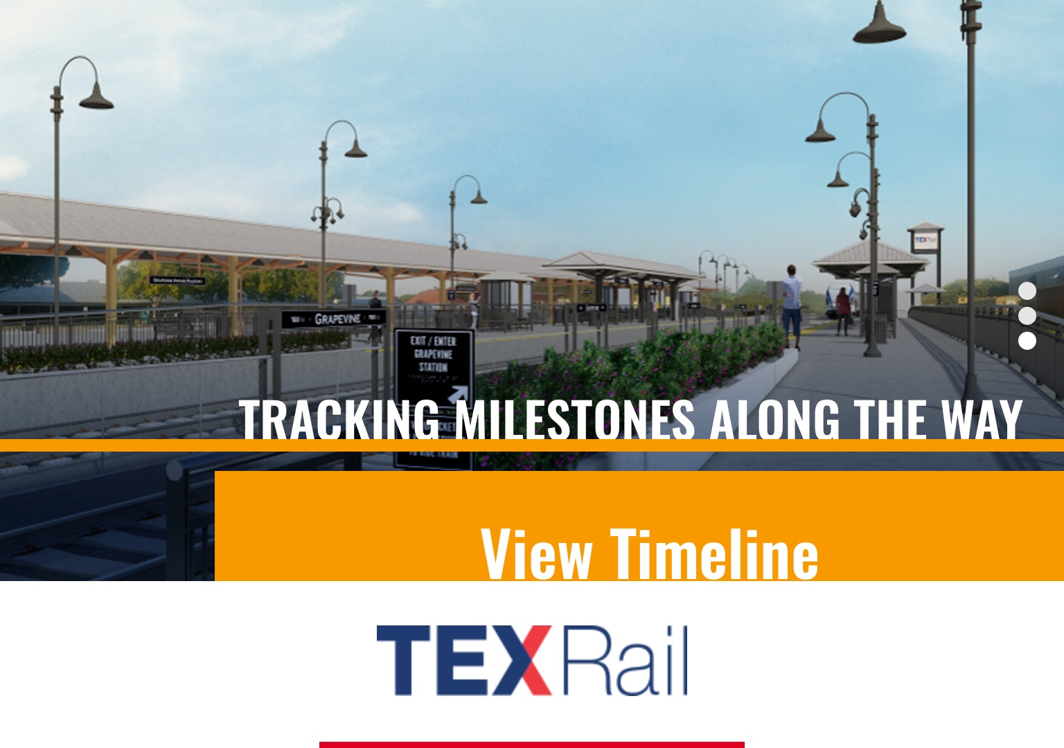 TEXRail ramping up for service in January   The Grapevine Source