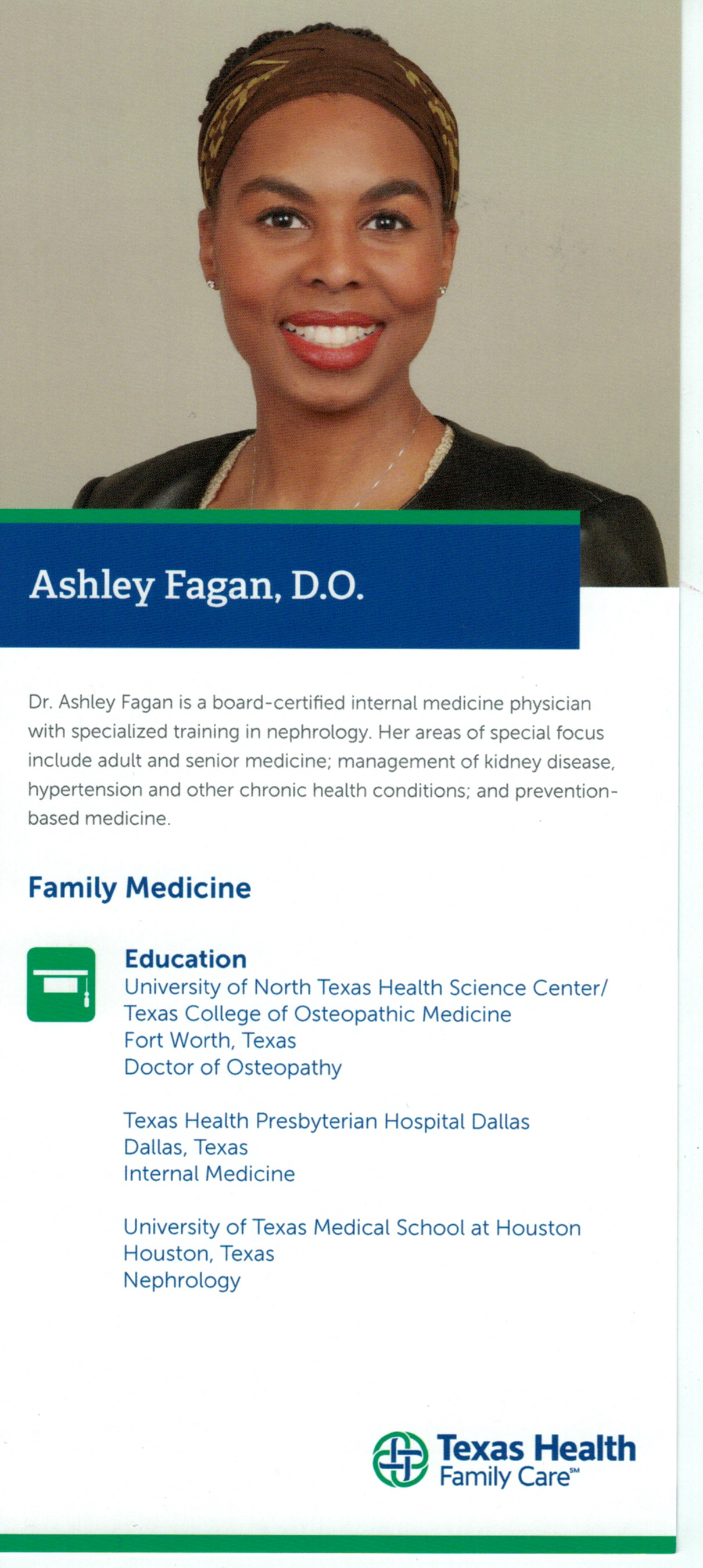 Health Insurance Texas >> Recommendation: Dr. Ashley Fagan, Primary Care Physician | The Grapevine Source