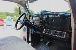 The restored dash