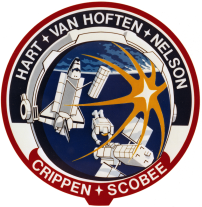 The Official Patch for STS-41C