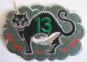 The Crew-Designed Patch for STS-13