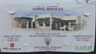 Animal Services Sign