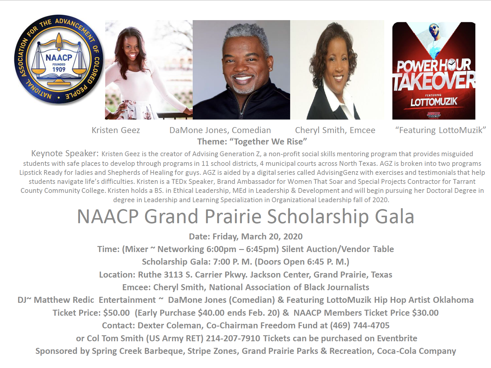 NAACP Flyer